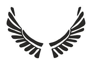 Tribal-Wings-stencil-350-micron-Mylar-not-thin-stuff-TaT0051