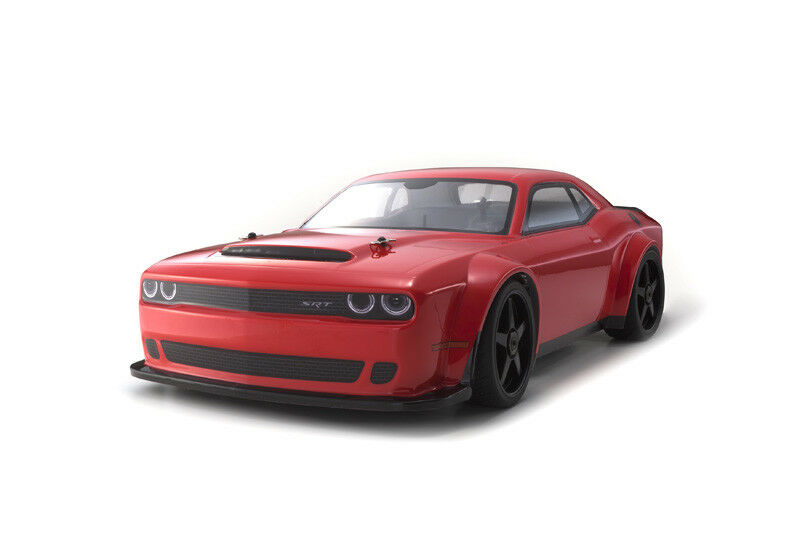 Kyosho inferno gt2 ve Race Specs Dodge challender SRT Demon 1 8 4wd rtr 34103b