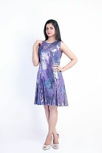 c5c6803e Sherry Fashion Womens Plus Size Sequin Skater Dress or Frock, Size ...