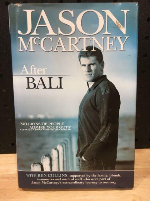 JASON MCCARTNEY AFTER BALI BOOK  - LIKE NEW $39.94 NEW