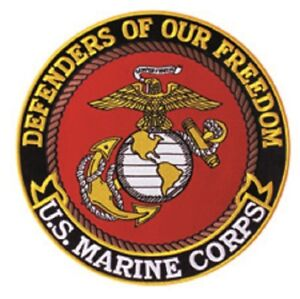 "PATCH U.S. Marines 5"""