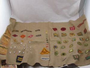 Vintage-1950-039-s-Cub-Scout-Patch-Star-Award-Lot-75-pcs