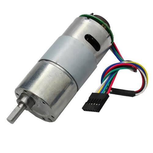 Details about  /1x 37GB545 DC12V 1000RPM Gear Motor With Encoder Electric Speed Reduce Motor