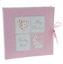 Baby Girl Ponk Fabric Photo Album Gift 6 x 4 CG1181P