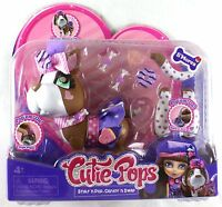 Cutie Pops Pets - S'mores Pups Dress Up Style N Pop Create N Swap Jada Toys