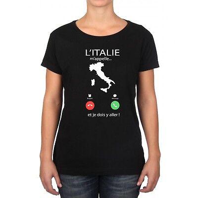 T-SHIRT HOMME L/'ITALIE M/'APPELLE...