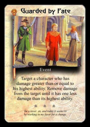 Guarded by Fate  Wheel of Time CCG TCG NM//M