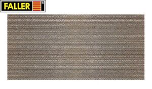 Faller-N-222567-Wall-Panel-034-Natural-Stone-Ashlar-034-1m-New