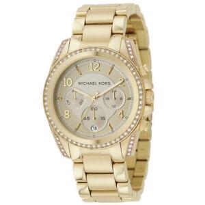 b94e8fe9fc86 Women s Watch Michael Kors MK5166 Blair Dress Watches Quartz Gold ...