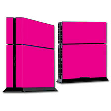 Skin Decal Wrap for Sony PlayStation 4 PS4 Console sticker Solid Hot Pink