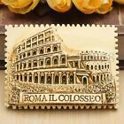 3D Tourist Souvenir Rerin Fridge Magnet Gift New-- Colosseum Roma / Rome , Italy