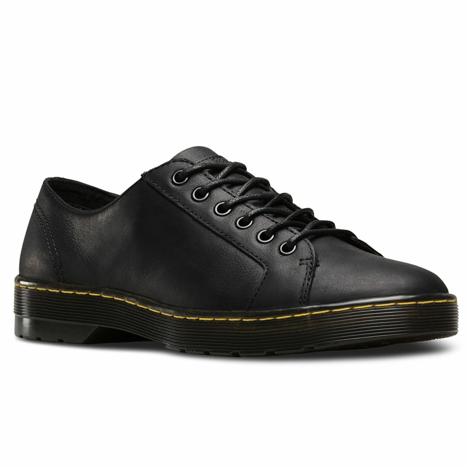 Dr.Martens Wilbur Black Mens Leather Derby Shoes
