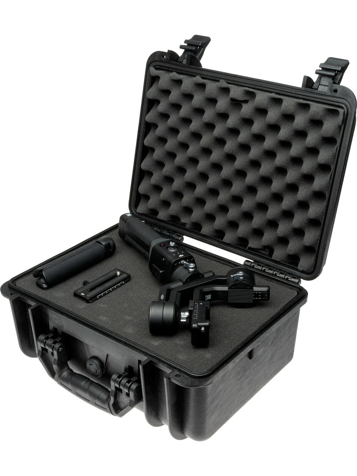 Compact Travel Hard Shell Gimbal Case With Foam (41 x 33 x 21 cm) (No. 1812)