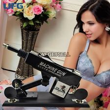 Sex Play Toy Machine Gun Black Pink Mastu Female Auto Scaling Toys