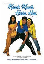 Kuch Kuch Hota Hai - Shahrukh khan, Kajol, Rani Mukherji - bollywood hindi dvd