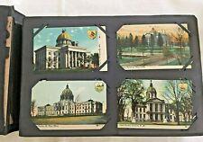 272 Postcards in Album Athens Towanda Sayre Pa NY RPPC
