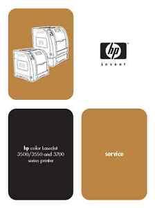 hp color laserjet 3500 3550 3700 series service manual parts rh ebay com hp color laserjet 3550 service manual pdf hp color laserjet 3550 service manual