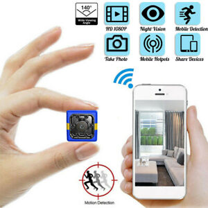 Mini-Camera-Wifi-IP-Home-Security-HD-1080P-DVR-Night-Vision-Motion-Recorder-amp-Mic