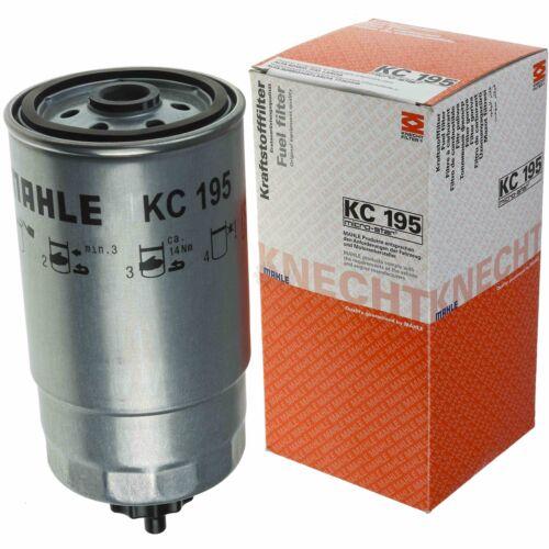 ORIGINALE MAHLE//Knecht KC 195 CARBURANTE FILTRI FILTRO FUEL