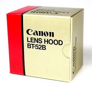CANON-Camera-Lens-Hood-BT-52B-Black-New-Boxed-Unused-Fits-New-FD-75-200mm-4-5