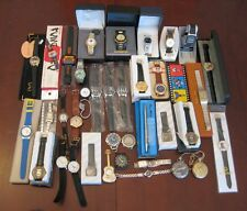 Awesome Lot 36 Advertising and Fashion Wrist Watches. Most NEW w/Packaging