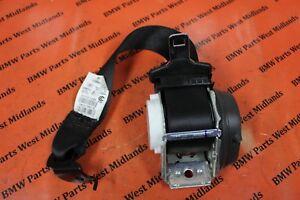 Details about BMQ X3 F25 X4 F26 OEM REAR SEAT BELT IN BLACK N/S/R LEFT SIDE  REAR 7258445