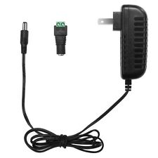 24W Power Supply Adapter 2A Power Supply Transformer 100-240VAC to 12VDC 3.9FT