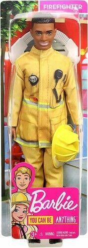 Mattel - Barbie - Ken Firefighter Doll [New Toys] Paper Doll, Toy
