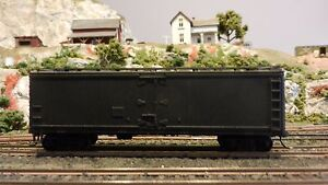 Athearn-HO-BB-40-039-Undecorated-Wood-Reefer-Upgraded-VG