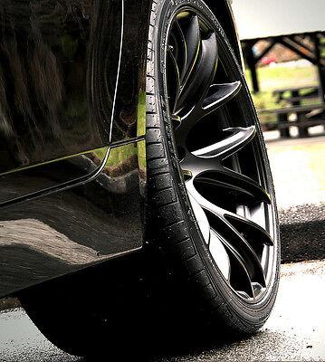"19"" Miro 111 Wheels For 350Z G35 Coupe Genesis 19X8.5 19X9.5 Concave Rims Black"