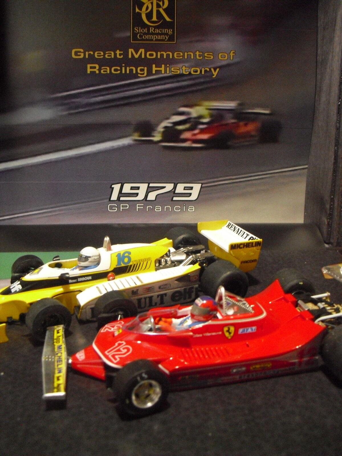 SRC 900104 Ferrari 312 T4 Gilles Villeneuve Renault RS10 Ren. Ed