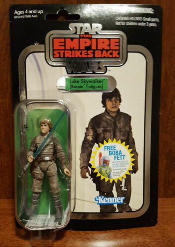 Star Wars VC04 LUKE SKYWALKER BESPIN-COLLECTION VINTAGE poinçonné Comme neuf on Card-Foil 2010