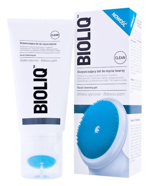 BIOLIQ FACIAL CLEANSING GEL EFFECTIVE AND GENTLE CLEANSING OF FACE