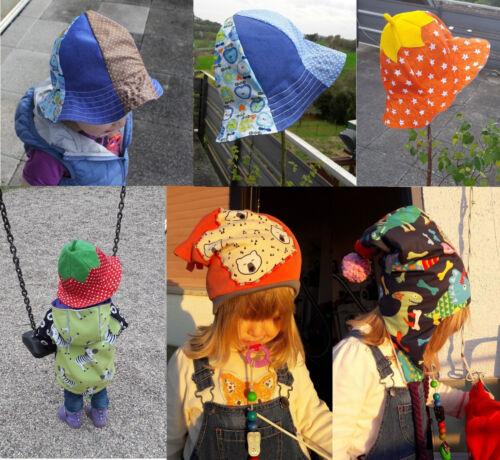 9 Süße Mützen Bommelmütze Hut Kappe Beanie Winter Herbst Sommer kinder *Neu*