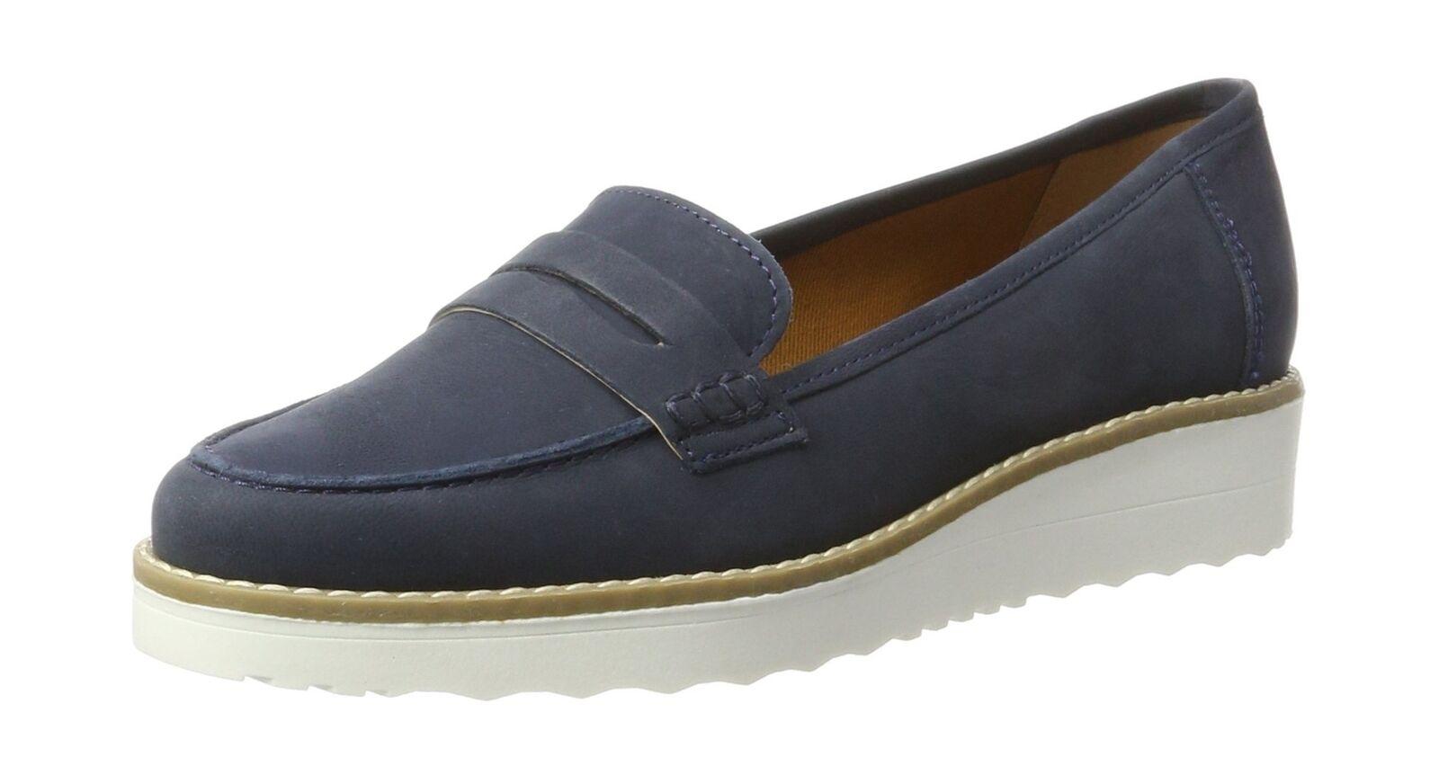 Carvela damen''s damen''s damen''s Mile Loafers Blau (Navy) 4 UK 56f087