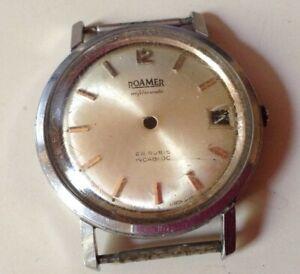 Cassa orologio ROAMER ANFIBIO MATIC vintage per ricambi