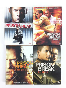 Prison Break The Complete First Box Lot Dvd Season 1 2 3 4 Without The 5 Ebay