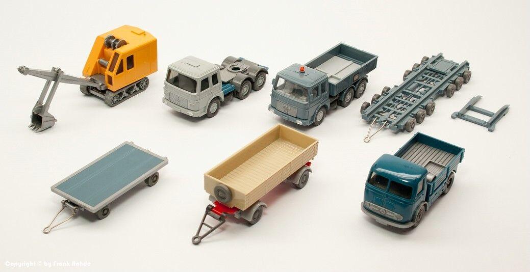 Wiking colección 6 modelos probablemente años 60er