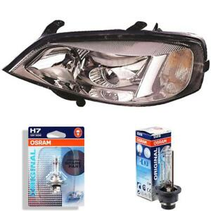 Xenon-Headlight-Right-Opel-Astra-G-Built-97-04-Coupe-Clear-Glass-D2S-H7-1346736