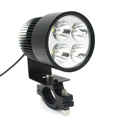 12V-80V Universal Motorcycle E-bike 20W LED Modified Headlight Lamp GFY