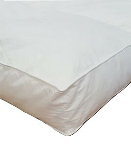 Millsave-Premium-4-034-or-5-034-Goose-Down-Feather-Bed-Mattress-Topper-Choose-Size