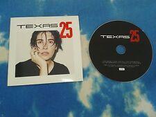 TEXAS 2015 PROMO CD ALBUM 25 Sharleen Spiteri