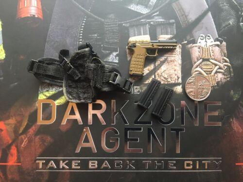 Virtual Toys The Dark Zone Renegade PMR-30 Pistolet /& Holster loose échelle 1//6th