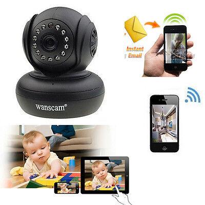 720p HD Wireless WiFi Network Security Pan Tilt IR Night Vision CCTV IP Camera
