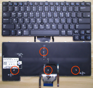 TASTIERA-retroilluminata-con-puntatore-per-Dell-Latitude-E6430U-Laptop-GVM53