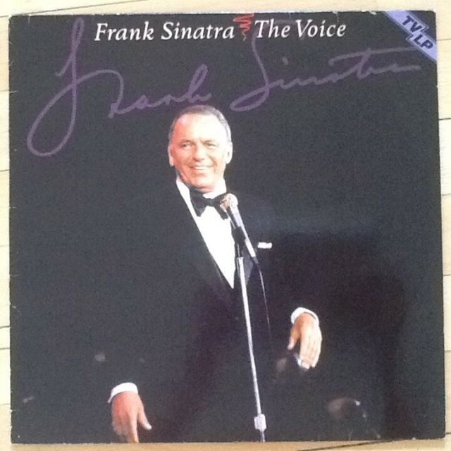 LP, Frank Sinatra, The Voice, Jazz, DN6211 - LP og cover i…