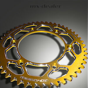 Gp-Tech Factory rueda dentada negro kettenkit cadena Esjot amarillo suzuki PMT 450