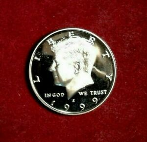 1997 S Kennedy Half Dollar Gem Deep Cameo CN-Clad Proof Coin