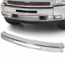 New Chrome Steel Front Bumper Impact Face Bar For 2007 2013 Chevy Silverado 1500 Fits 2013 Silverado 1500