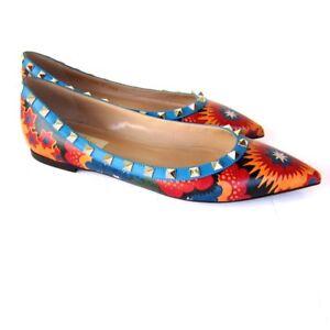 j-2654269 NEUF VALENTINO GARAVINI / chaussures plates à enfiler taille 35.5 US